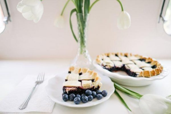 Blueberry Pie - Slice Of Pie Raleigh