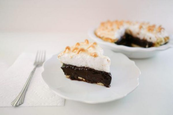 Chocolate Meringue Pie - Slice Of Pie Raleigh