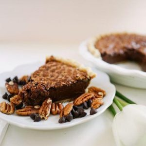 Chocolate Pecan Pie - Slice Pie Company Raleigh