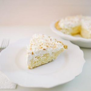 Coconut Cream Pie - Slice Pie Raleigh