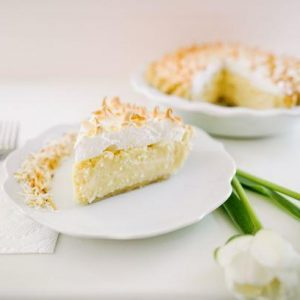 Coconut Meringue Pie - Slice Of Pie Raleigh