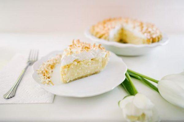 Coconut Meringue Pie - Slice Pie Company Raleigh
