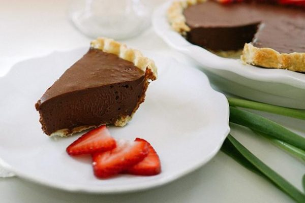 Dark Chocolate Truffle Pie - Slice Pie Company Raleigh