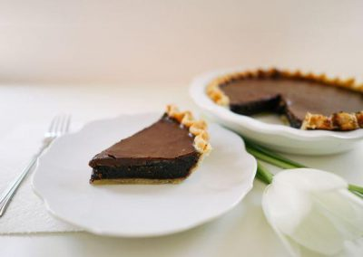 Double Chocolate Chess Pie - Slice Pie Company Raleigh