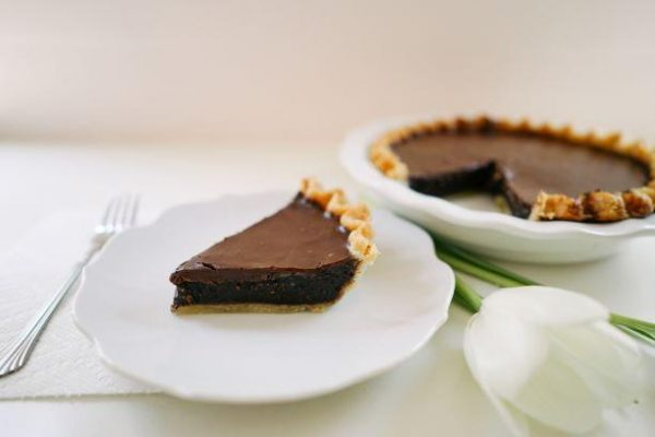 Double Chocolate Chess Pie - Slice Pie Raleigh