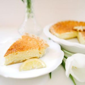 Lemon Chess Pie - Slice Of Pie Raleigh