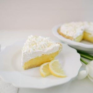 Lemon Cream Pie - Slice Of Pie Raleigh