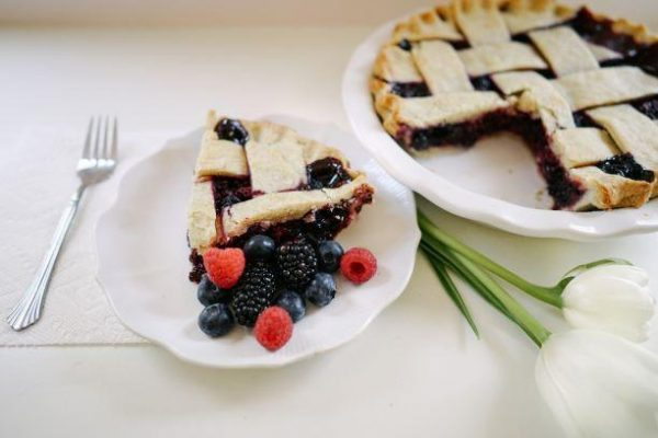 Mixed Berry Pie - Slice Of Pie Raleigh