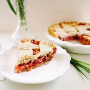 Strawberry Rhubarb Pie - Slice Of Pie Raleigh